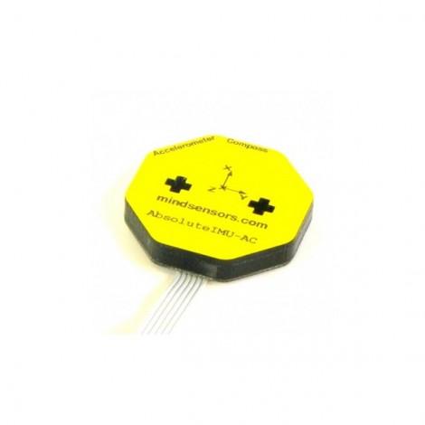 Capteur boussole/accéléromètre AbsoluteIMU-AC pour Lego NXT