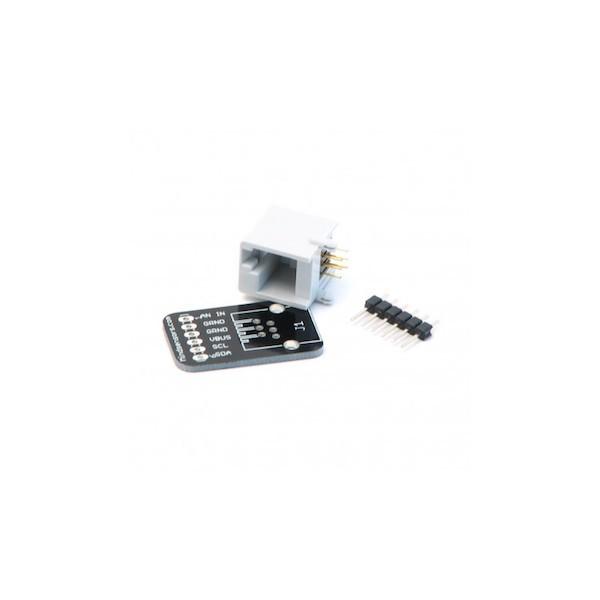 Steckboard-Adapterbausatz für NXT und EV3