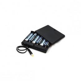 Etui für 6 AA-Batterien für die IR360 Infrarot-Bake HiTechnic