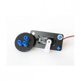 RC Mini-Servo (9 g) with mounting kit for NXT or EV3