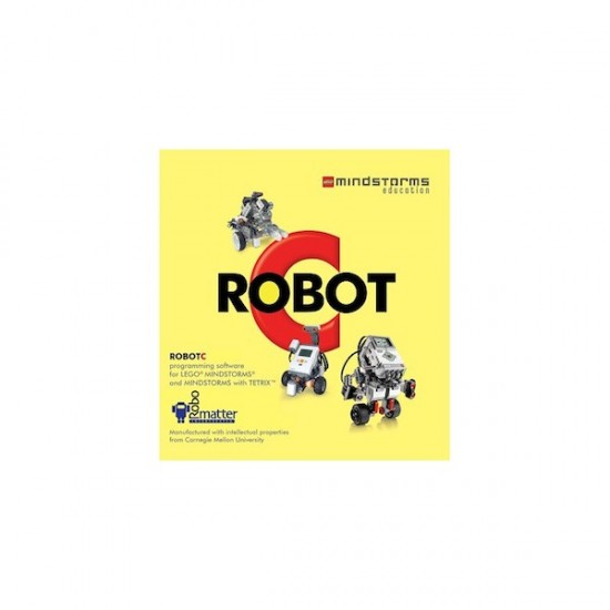RobotC 4.0 for Lego Mindstorms NXT and EV3 - Single license