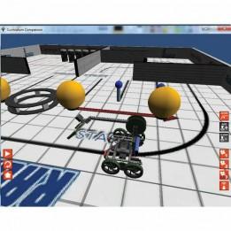 Robot Virtuel Worlds 4.0 für Lego Mindstorms - Einzelplatzlizenz