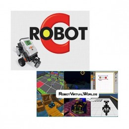 RobotC / Robot virtual World 4.0 for Lego Mindstorms Bundle - Perpetual single user license