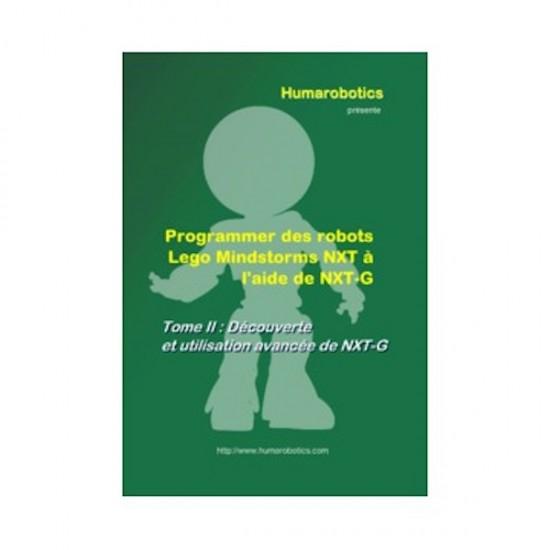 """Livre """"Programmer des robots Lego Mindstorms NXT à l'aide de NXT-G - Tome II"""" Edition Deluxe"""