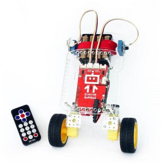 GoPiGo3 BalanceBot Extension Kit
