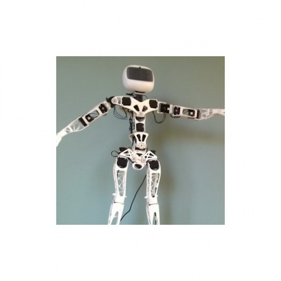 Poppy Humanoid Robot Raspberry Pi version (with 3D parts)