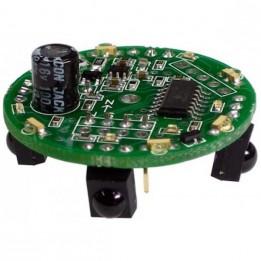 Infrared beacon transceiver
