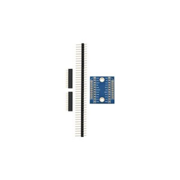 Carte PCB servant d'adaptateur pour puces XBee
