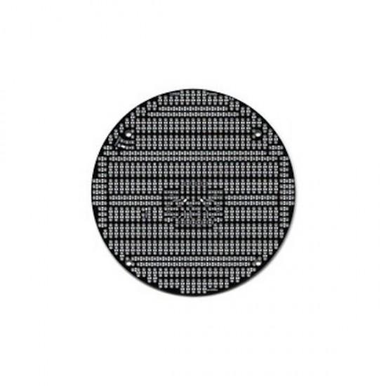 3pi Robot Expansion Kit Without Cutouts Black