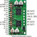 Carte de pilotage MC33926 pour deux moteurs