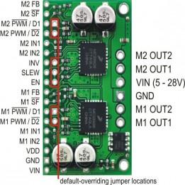 Dualer Motorcontroller MC33926