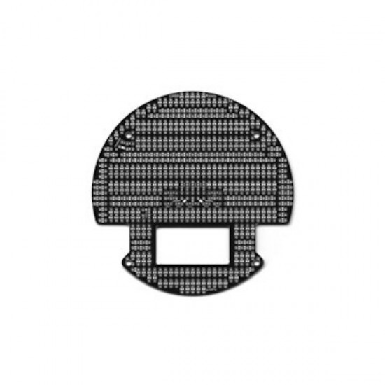 3pi Robot Expansion Kit with Cutouts Black