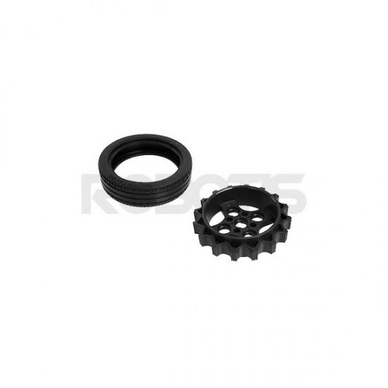 TB3 Wheel/Tire Set-ISW-01 (x2)