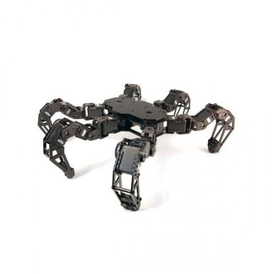 Kit structure + électronique hexapode PhantomX AX Mark III