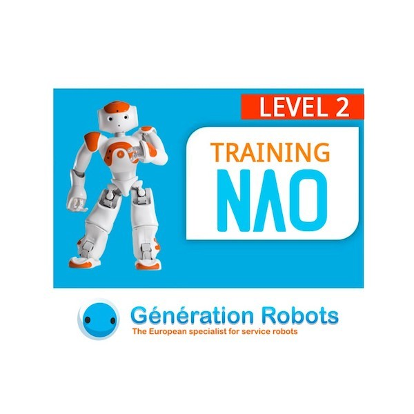 "Formation programmation NAO - Niveau 2 ""Master"" - 3 jours"