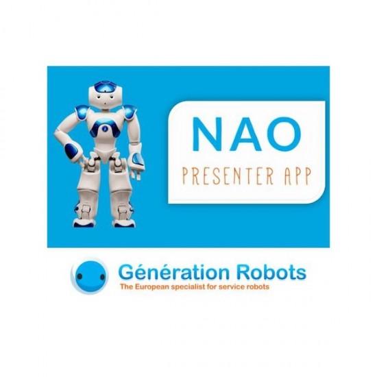 Application NAO Presenter