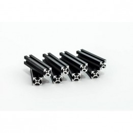 Profilés taraudés MakerBeam 40mm - noir (x8)