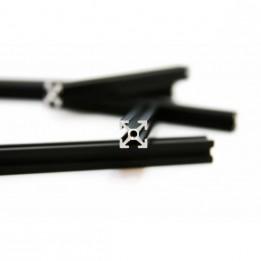 MakerBeam Profile mit Gewindebohrung 60 mm - Schwarz (x8)