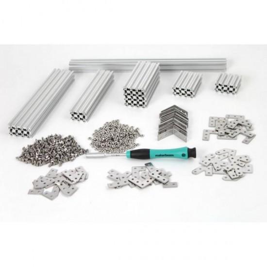 MakerBeam Starter Kit (eloxiertes Aluminium)