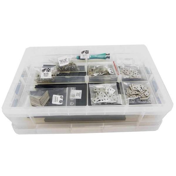 MakerBeam Premium Starter Kit (eloxiertes Aluminium)