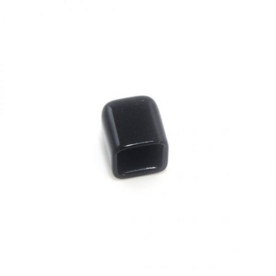 MakerBeam black vinyl end caps (x4)