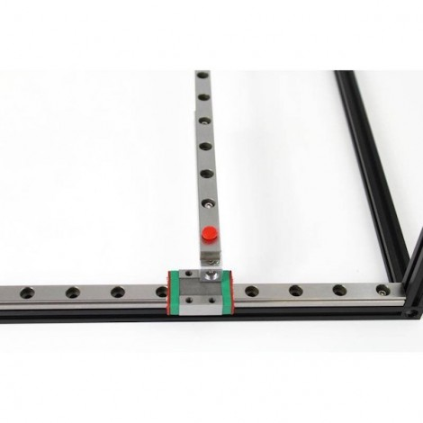 MakerBeam linear slide rail and carriage (300mm)