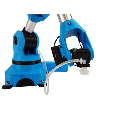 Vacuum pump and suction cup for Niryo One robot arm