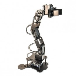 PhantomX Pincher Robot Arm Kit with AX-12 Actuators and Adapter for Leo Rover (non-assembled)