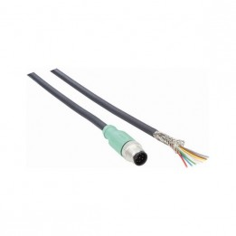 M12 power cable with 8 pins for Sick LMS111 laser scanner