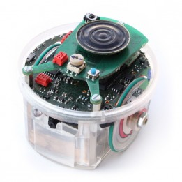 E-puck robot with battery and ground sensor