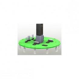 Planche de contrôle des robots Kilobots