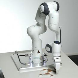 FE-Greifer für den Roboterarm PANDA