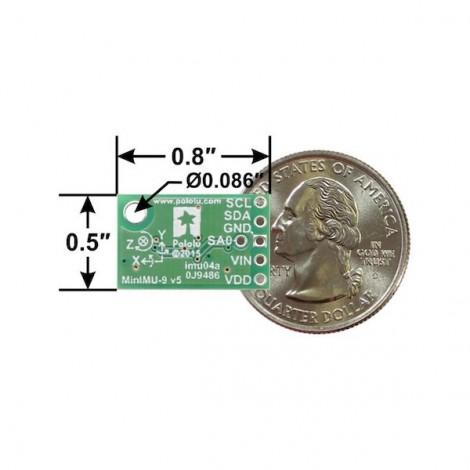 MinIMU-9 v5 Gyro, Accelerometer and Compass