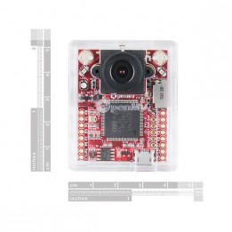 OpenMV cam M7 capteur d'image pour vision machine, avec boîtier et connecteurs