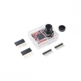 OpenMV CamM7 for machine vision, with protection case and connectors