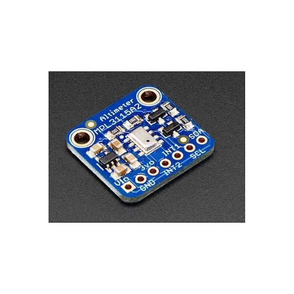 MPL3115A2 I2C Barometric Pressure / Altitude / Temperature Sensor