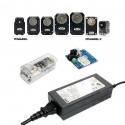 """Pack """"Essentiels"""" alimentation et communication pour servomoteurs Dynamixel"""