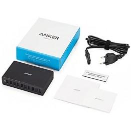 Chargeur secteur USB 10 ports 60W