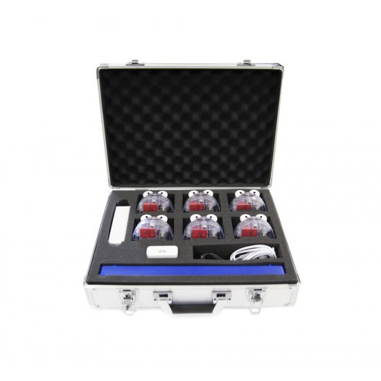 Pack complet 6 BlueBot avec accessoires et valise de transport