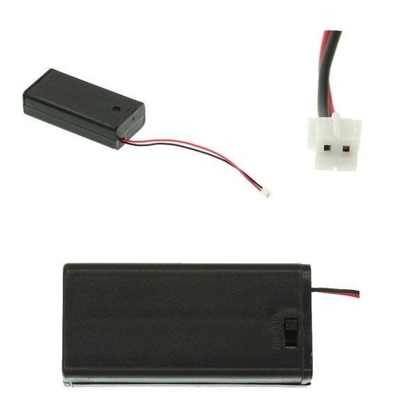 Support pour 2 piles AA avec interrupteur - compatible micro:bit