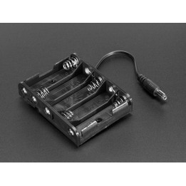 Support de piles 5 x AA avec prise jack compatible Arduino