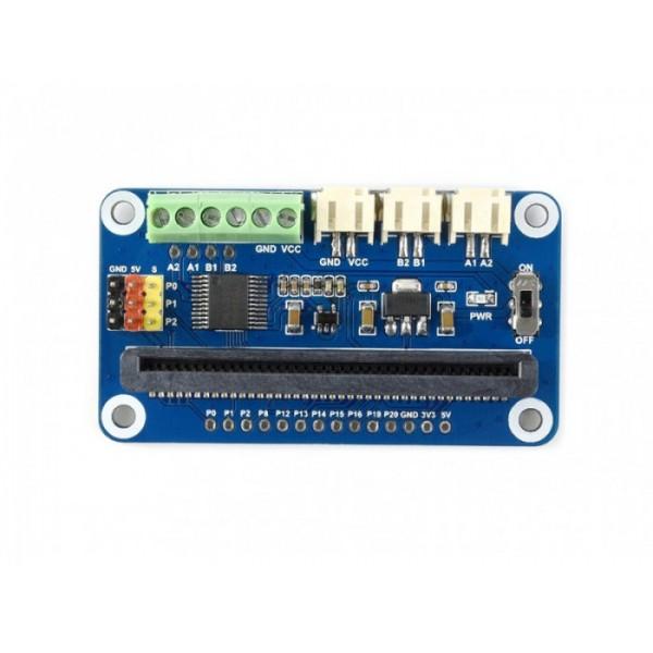 Carte d'extension driver moteurs et servos pour micro:bit