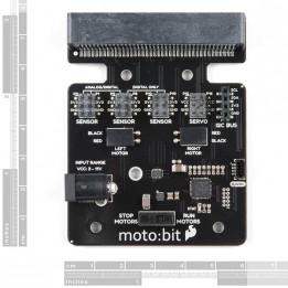 Carte d'extension moto:bit pour micro:bit (Qwiic)