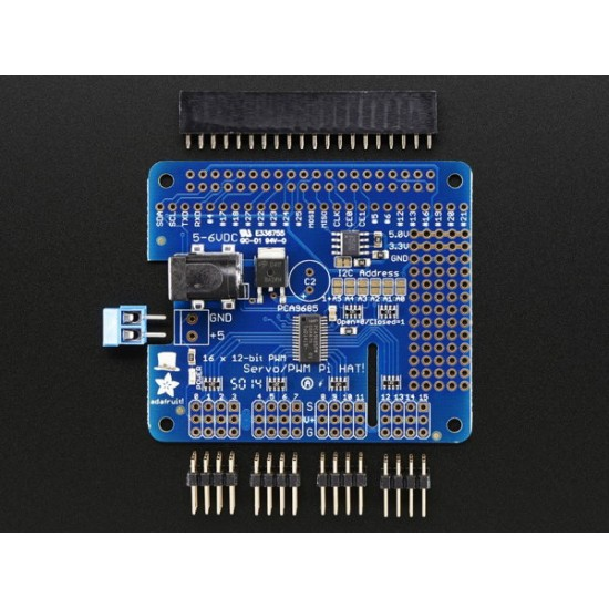 Hat 16 canaux PWM pour Raspberry Pi