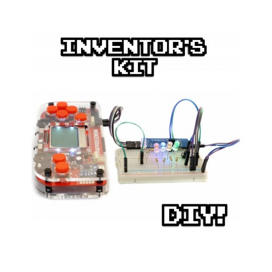 MAKERbuino inventor's kit (outils inclus)
