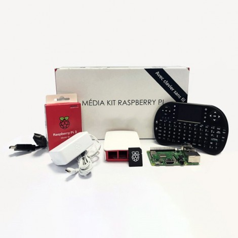 Kit Média Center Raspberry PI 3 B +