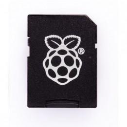 Carte micro-SD officielle Raspberry Pi préchargée avec NOOBS classe U1