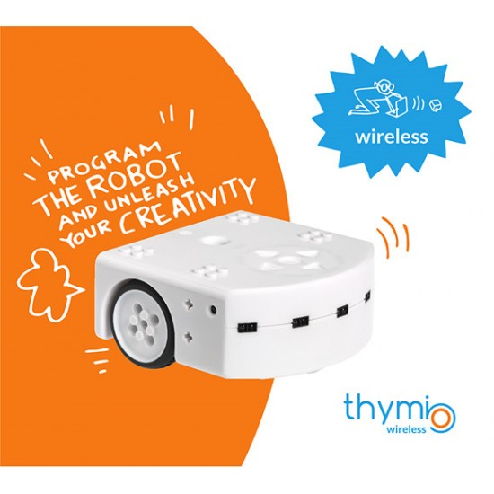 Robot mobile Wireless Thymio II