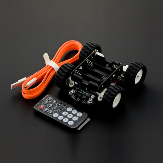 Base robotique 4x4 MiniQ compatible Arduino