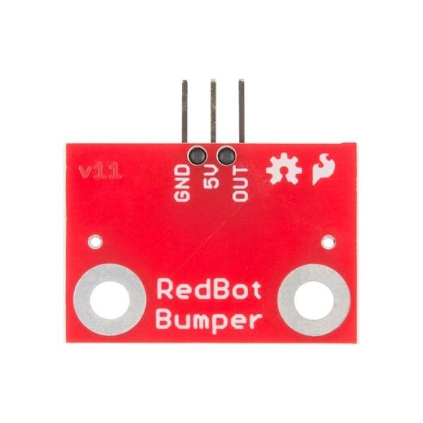 Bumper mécanique pour plateforme RedBot